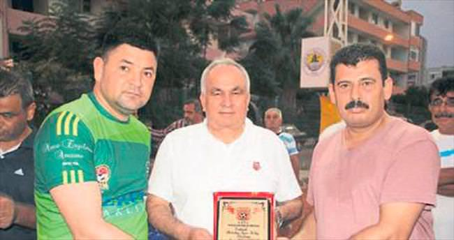 Erdemli'de veteranlar turnuvası sona erdi