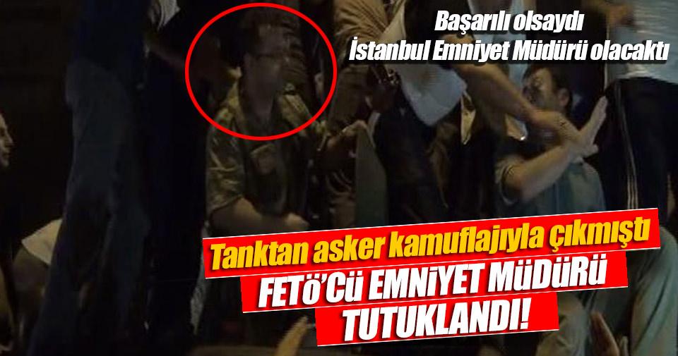 Tanktaki emniyet müdürü tutuklandı