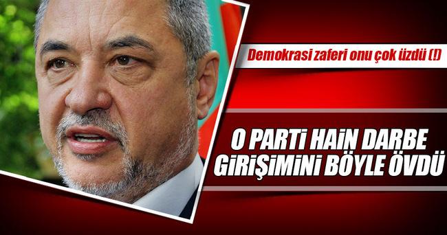 Türk düşmanı Bulgar parti, hain darbeyi övdü!