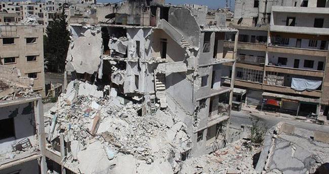 Rus uçakları İdlib'de yerleşim yerini vurdu
