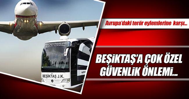 Beşiktaş için inanılmaz güvenlik önlemi!
