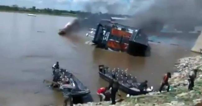 Amazon'da tekne faciası: 1 ölü, 4 kayıp