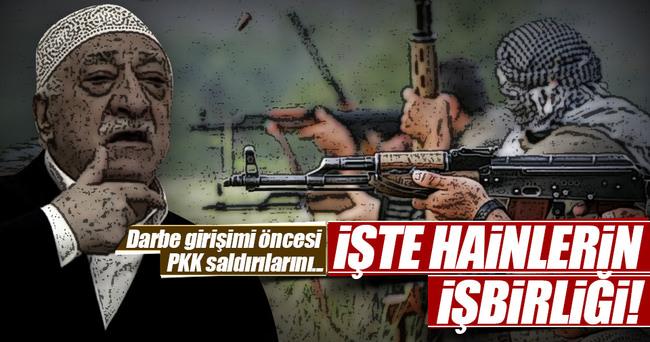 FETÖ ve PKK'dan darbe girişimi öncesi iş birliği