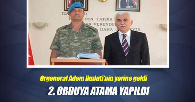 İsmail Metin Temel, 2. Ordu'nun başına atandı