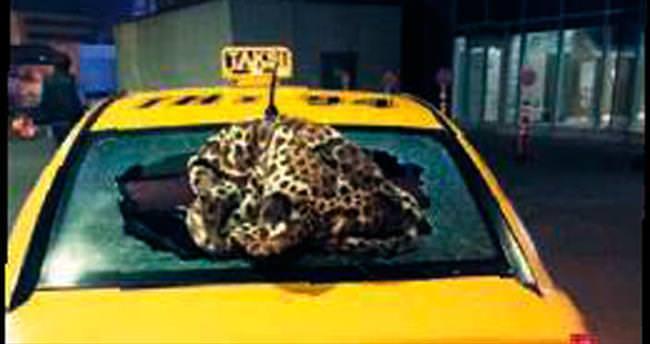 Yaralı taşıyan taksiye 14 kurşun