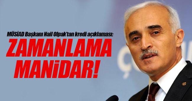 """Olpak'tan kredi açıklaması: """"Zamanlama manidar"""""""