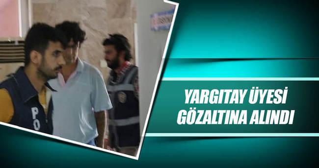 Yargıtay Üyesi Hüseyin Sarıömeroğlu gözaltına alındı