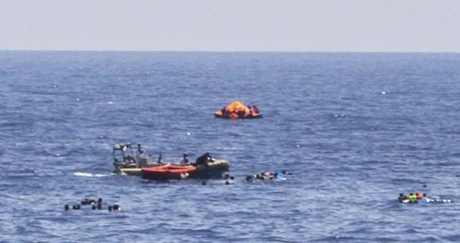 Libya açıklarında bin mülteci kurtarıldı