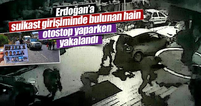 Erdoğan'ın kaldığı otele saldıran hain askerlerden biri yakalandı