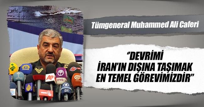 İranlı komutandan devrim ihracı itirafı