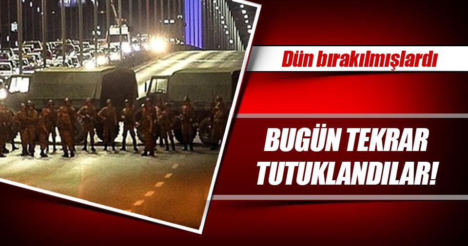 Boğaziçi Köprüsü'ndeki 22 er tekrar tutuklandı