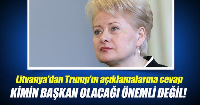 Litvanya'dan Trump'ın açıklamalarına cevap