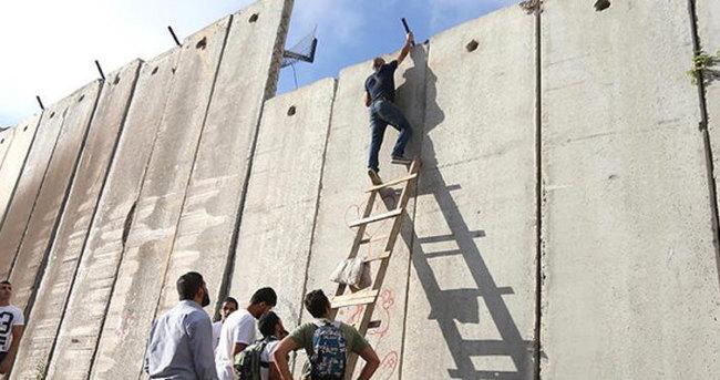 Filistin'e 42 kilometrelik yeni 'ayrım duvarı'