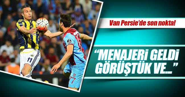 ...Ve Fenerbahçe'de Van Persie'de son nokta!