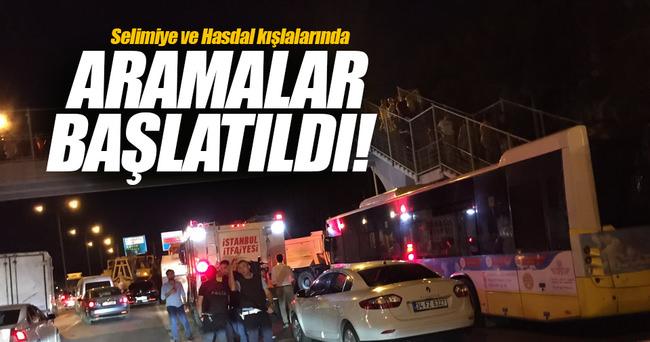Selimiye ve Hasdal kışlalarında arama başlatıldı!