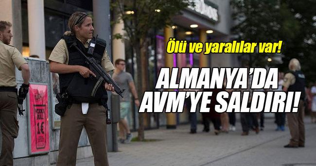ALMANYA'DA SİLAHLI SALDIRI!