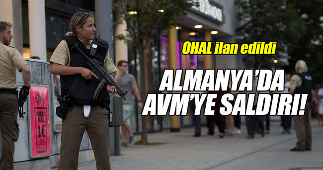 ALMANYA'DA ALIŞVERİŞ MERKEZİNDE SİLAH SESLERİ!