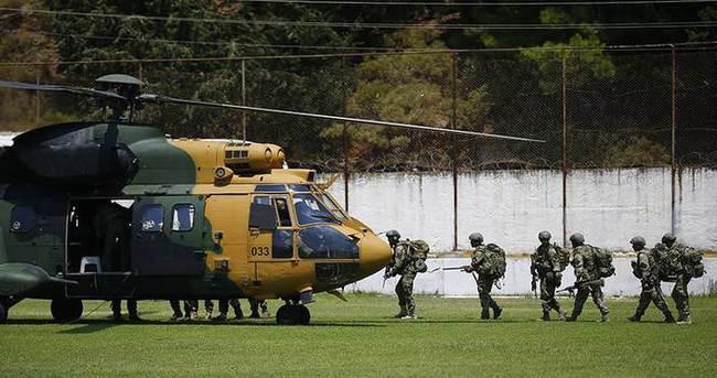 Özel eğitimli askerler aralıksız darbecilerin peşinde