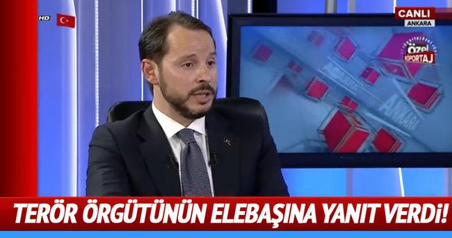 Enerji Bakanı'ndan FETÖ'nün başına cevap!