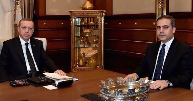 MİT müsteşarı Cumhurbaşkanlığı Külliyesi'nde