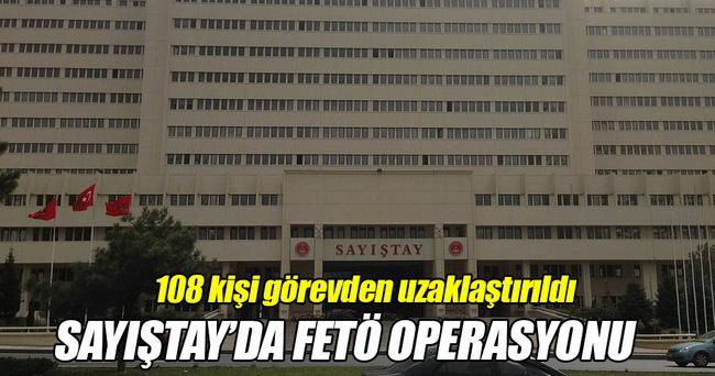 FETÖ Operasyonu Sayıştay'a da sıçradı!