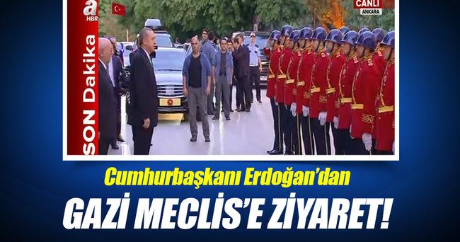 Cumhurbaşkanı Erdoğan TBMM'de!