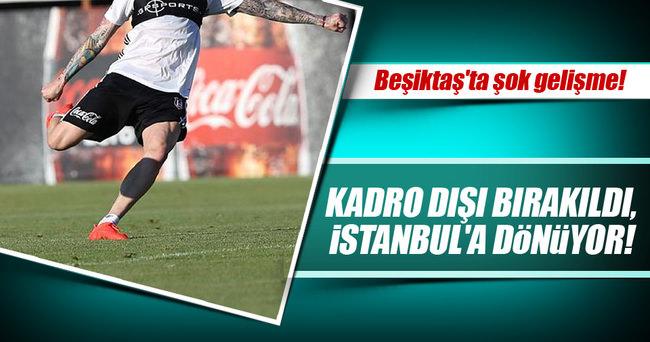 Jose Sosa, Beşiktaş kampından ayrıldı