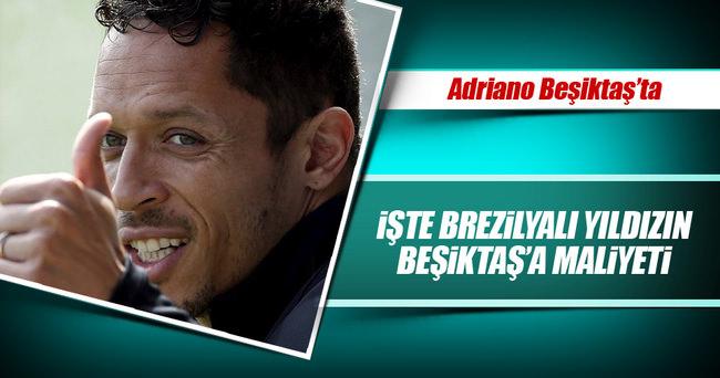 İşte Adriano'nun Beşiktaş'ta maliyeti