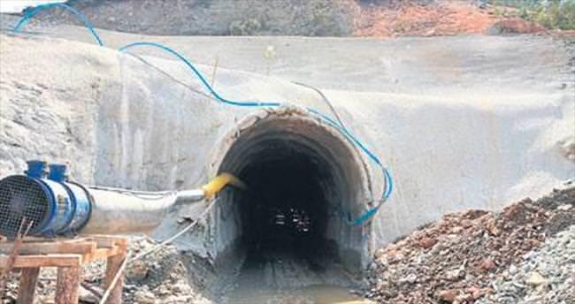 Yeniköy Barajı'nda çalışmalar sürüyor