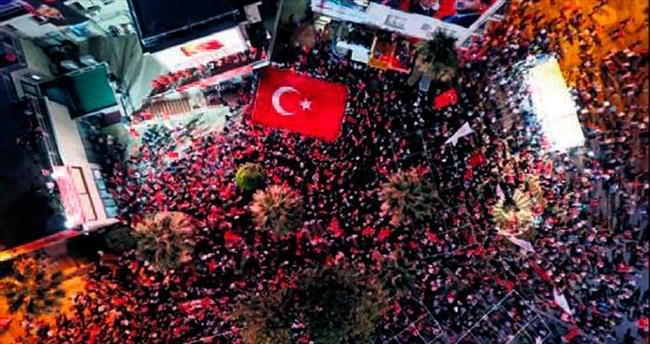 Demokrasi nöbetinde 7'nci gün