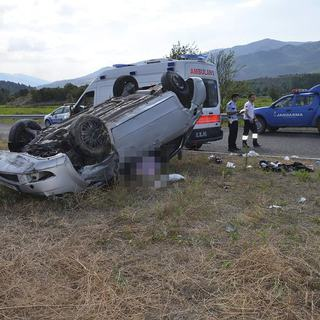 Kastamonu'da trafik kazası 1 ölü 3 yaralı
