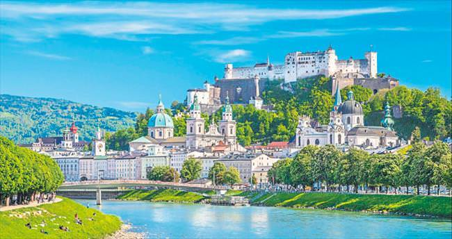 Her köşesi ayrı bir sürpriz Salzburg