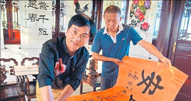 Çinli ustadan barış mesajı