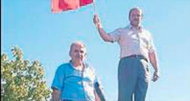 Akseki'den kalktı Ankara'ya gitti