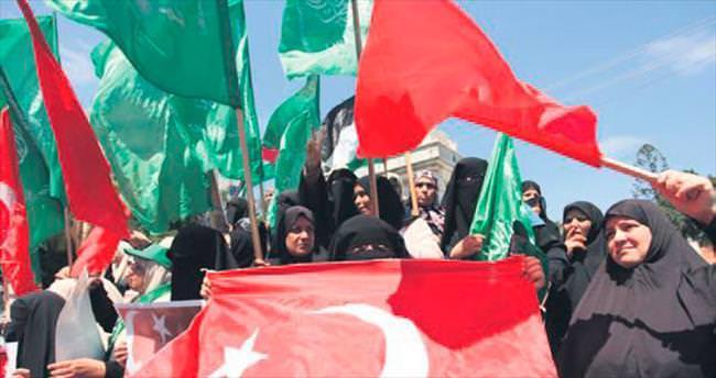 Gazze, Türkiye'nin desteğini unutmadı