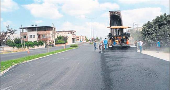 Osmaniye'de asfalt seferberliği başladı