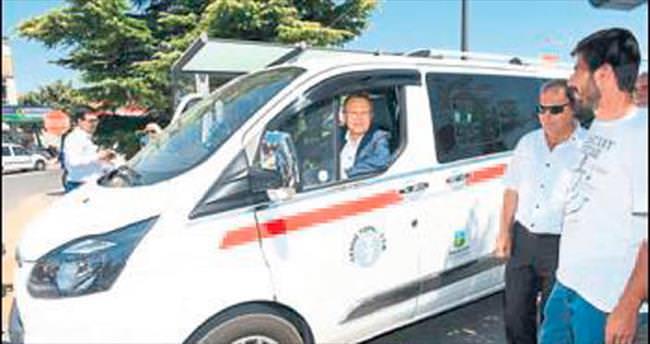 Balıkesir'e yeni taksiler yakıştı