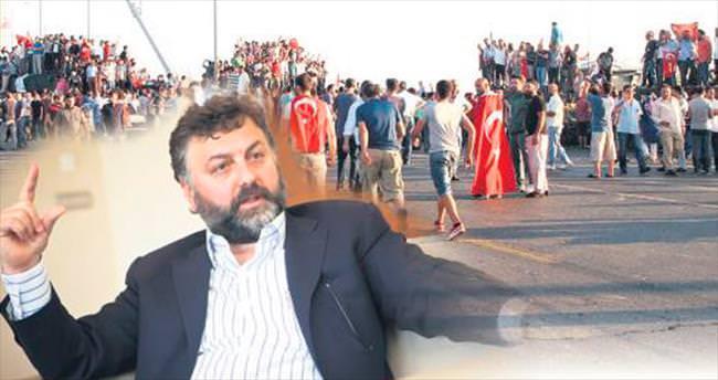 500 işçisiyle demokrasi nöbetinde