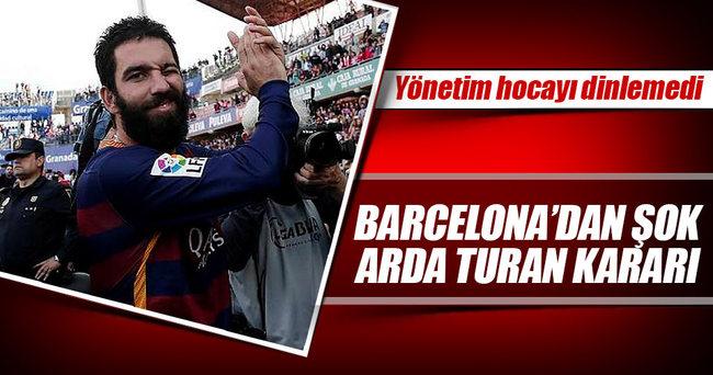 Barcelona, Arda Turan'ı satacak