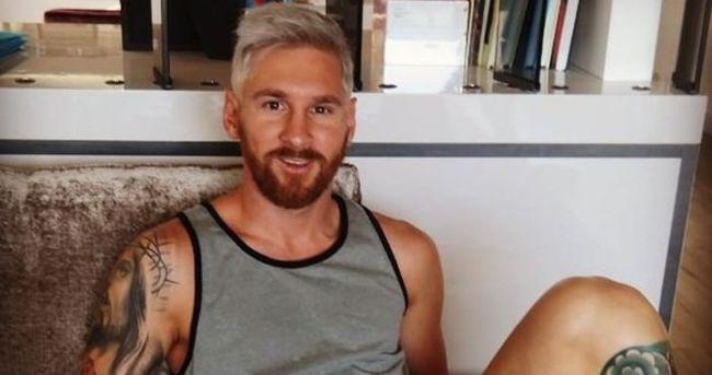 Messi'nin yeni imajı şaşırttı