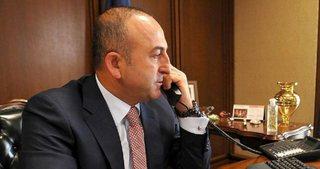 Mevlüt Çavuşoğlu'ndan kritik telefon