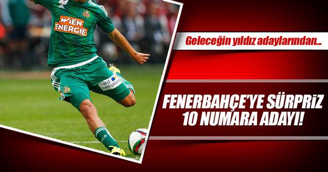 Fenerbahçe'ye sürpriz 10 numara