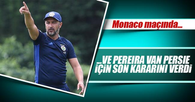 Fenerbahçe'nin Monacı maçı muhtemel 11'i