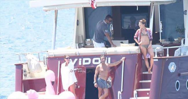 Teknede romantik anlar