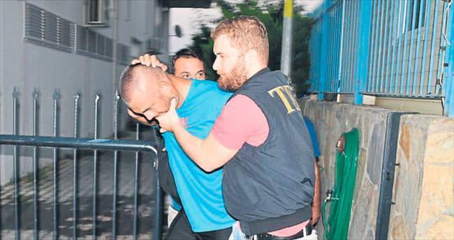 Üniformalı terörist çadırda yakalandı