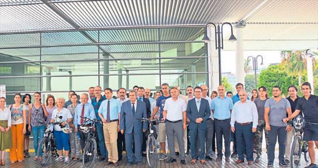 Mersin'de akıllı bisiklet projesi