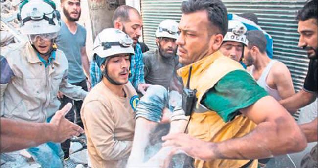 Suriye'de 4 hastaneye hava saldırısı