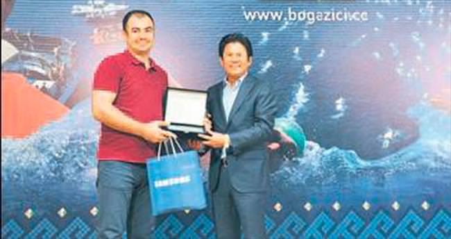 Samsung&TMOK'tan SABAH'a ödül