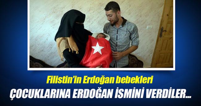 Filistin'in Erdoğan bebekleri