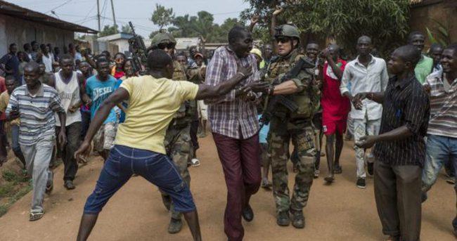 Orta Afrika Cumhuriyeti'nde saldırı